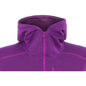 Norrøna Trollveggen Warm/Wool1 Bluza z zamkiem błyskawicznym Kobiety, royal lush